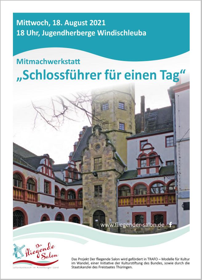 Mitmachwerkstatt im Schloss Windischleuba